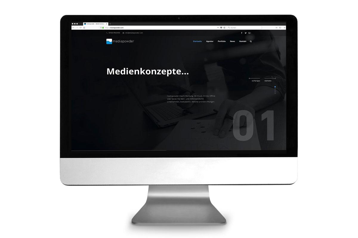 Neue Internetseiten online